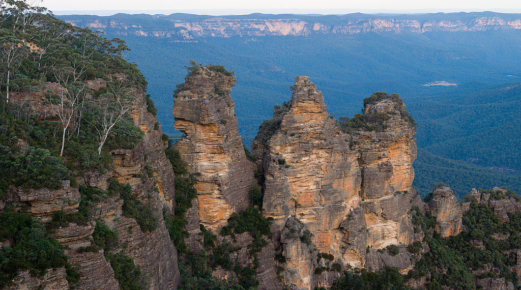 The Three Sisters in Jamison Valley